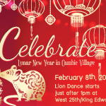 Celebrate Lunar New Year in Cambie Village Feb 8