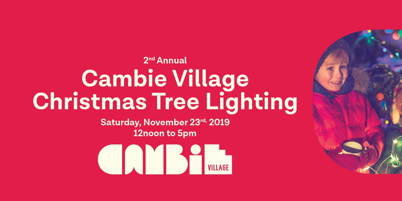 2nd Annual Cambie Village Christmas Tree Lighting