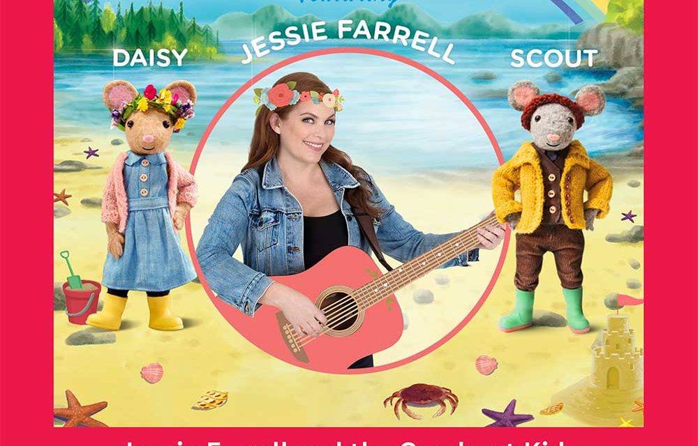 Jessie Farrell and the Gumboot Kids Free Shows-Saturday, August 24