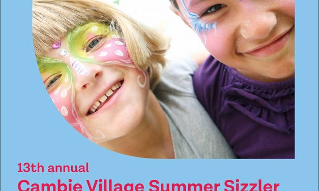 13th annual Cambie Village Summer Sizzler-Saturday August 24