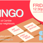 Bingo – Join your Neighbours
