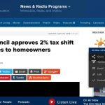 Vancouver council approves 2% tax shift from businesses to homeowners