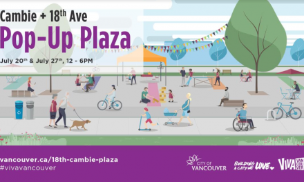 18th& Cambie Pop-up Plaza